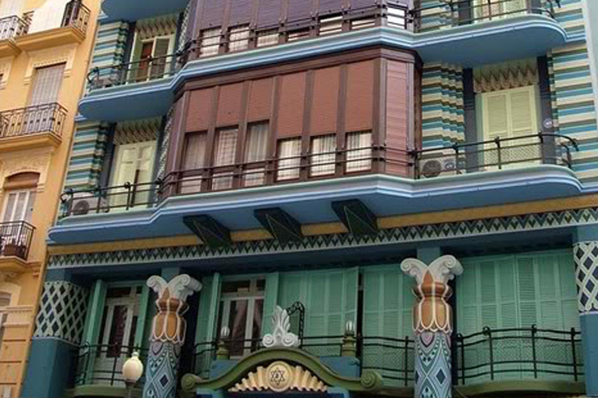 Los edificios más bonitos de Valencia. Casa Judía