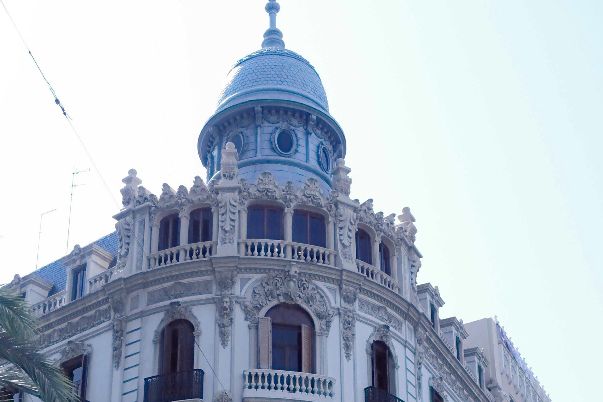 Los edificios más bonitos de valencia. Casa Ernesto Ferrer