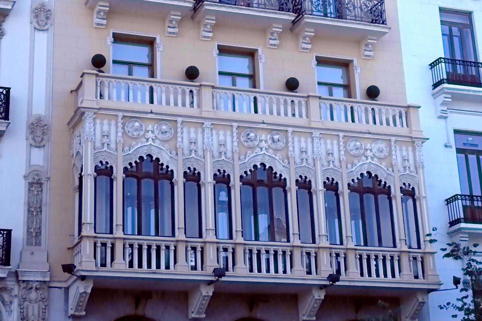 Los edificios más bonitos de valencia. Casa Noguera