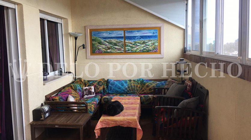 Venta de ático dúplex en playa de Puerto de Sagunto. Inmobiliaria Puerto.