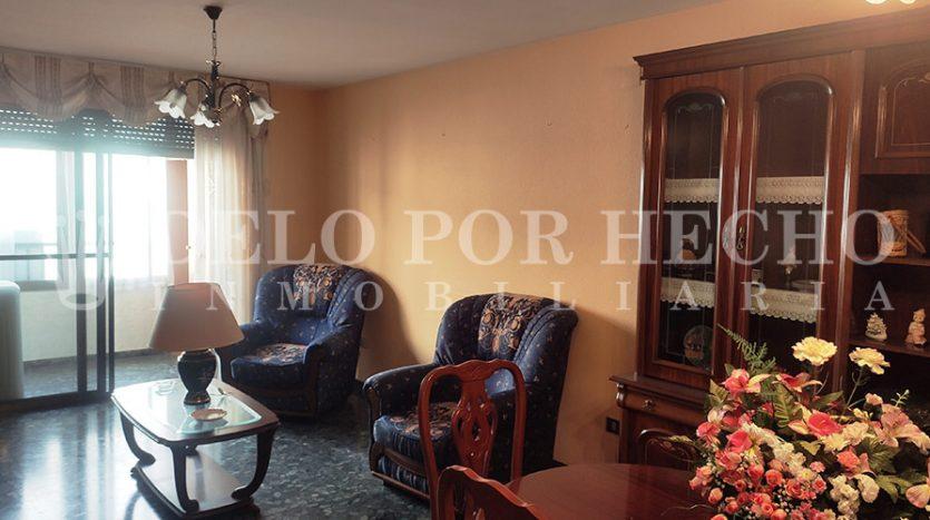 Venta de piso en Puerto de Sagunto. Inmobiliaria Delo por hecho.